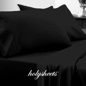 Black HolySheets Set – Luxury Bamboo Collection