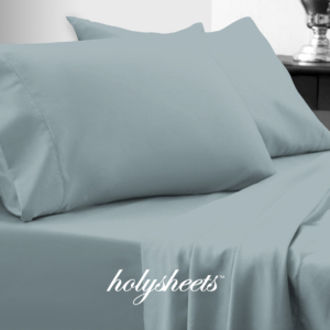 Sky Blue HolySheets Set – Luxury Bamboo Collection