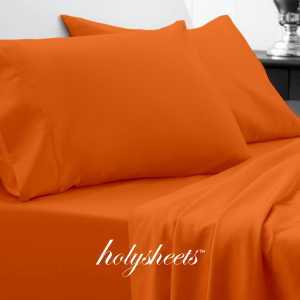 Autumn Orange HolySheets Set – Luxury Bamboo Collection