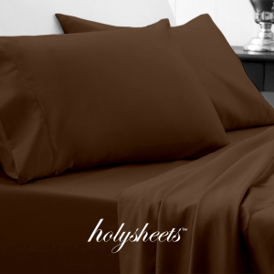 Brown HolySheets Set – Luxury Bamboo Collection