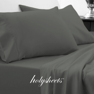 Forest Green Grey HolySheets Set – Luxury Bamboo Collection