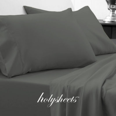holy sheets forest green grey