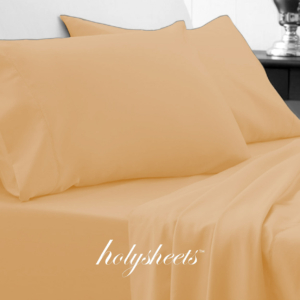 Gold HolySheets Set – Luxury Bamboo Collection