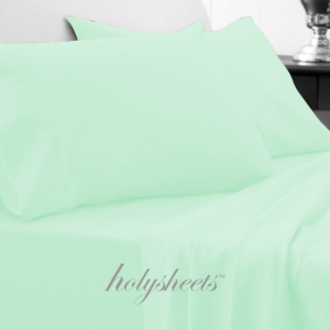 Mint HolySheets Set – Luxury Bamboo Collection