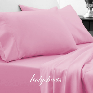 Pink HolySheets Set – Luxury Bamboo Collection