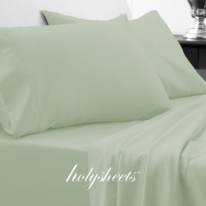 Sage HolySheets Set – Luxury Bamboo Collection