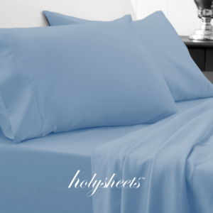 Sky Blue HolySheets Set – Luxury Bamboo Collection