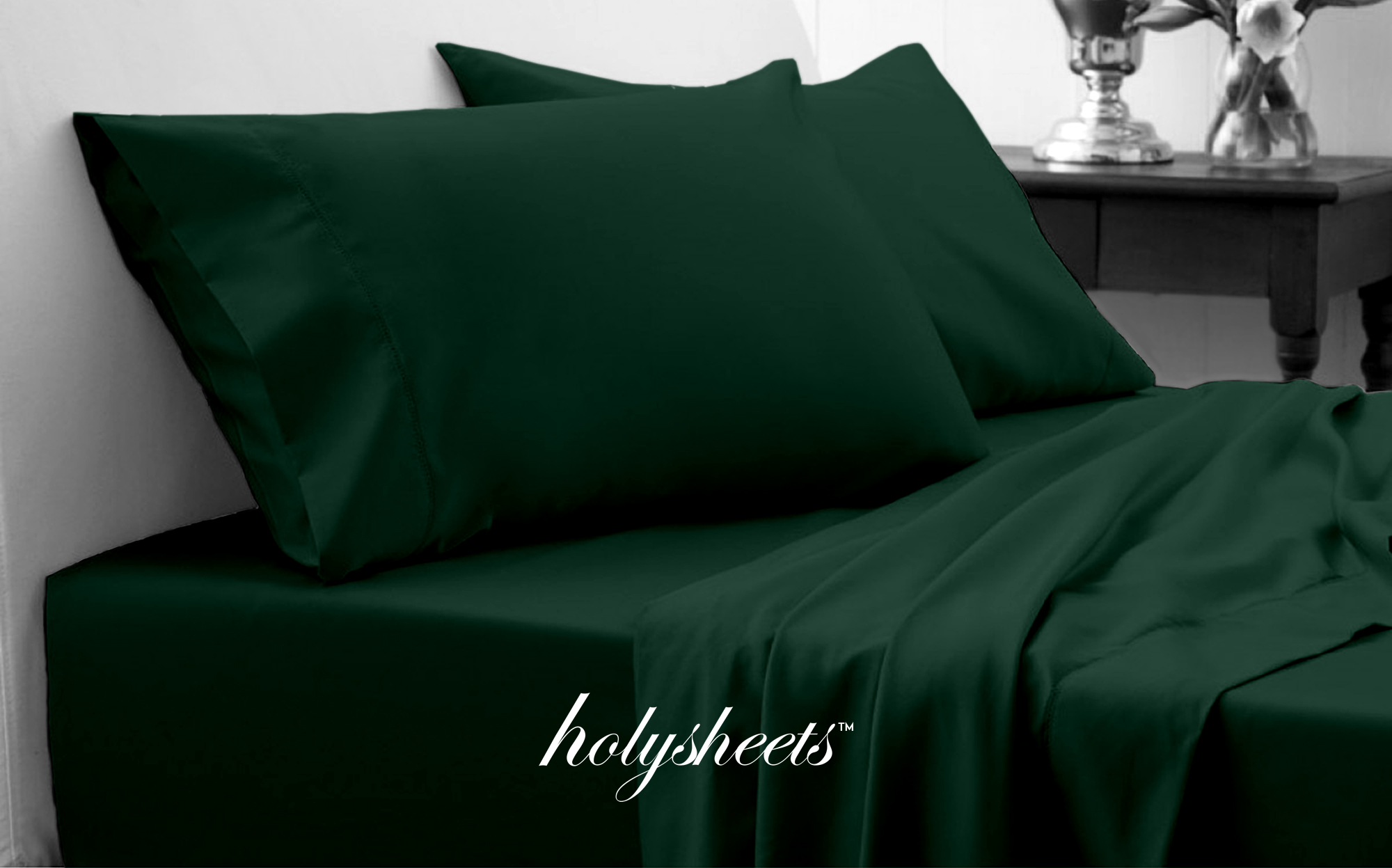 Emerald HolySheets Set – Luxury 1500 Collection Holy Sheets USA