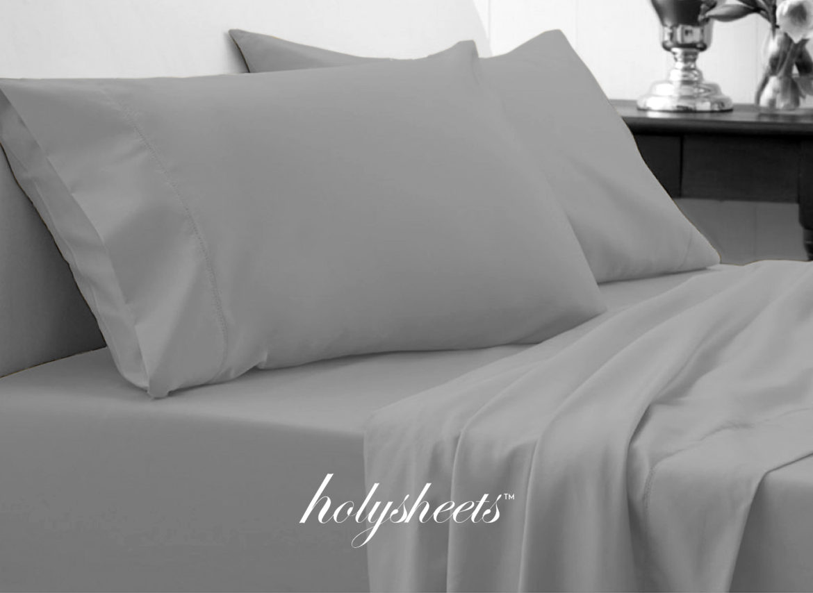 light grey holysheets set 1500 collection