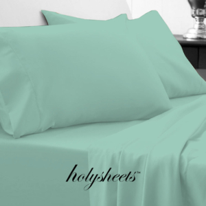 Light Teal HolySheets Set – Luxury Bamboo Collection