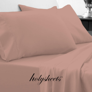 Pearl Pink HolySheets Set – Luxury Bamboo Collection