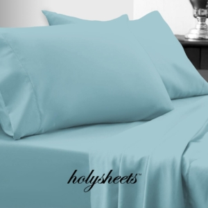 Aqua HolySheets Set – Luxury Bamboo Collection
