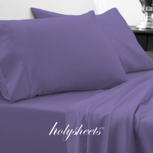 Purple HolySheets Set – Luxury Bamboo Collection