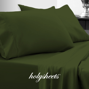 Hunter Green HolySheets Set – Luxury Bamboo Collection