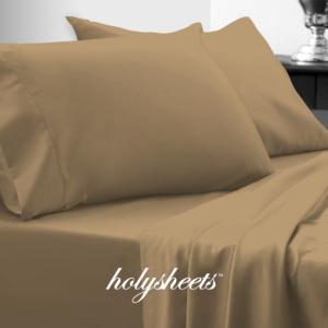 Light Khaki HolySheets Set – Luxury Bamboo Collection