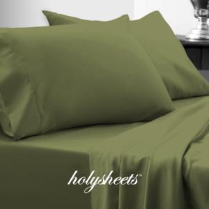 Olive HolySheets Set – Luxury Bamboo Collection