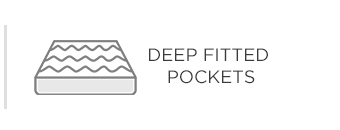 Deep Fitted Pockets
